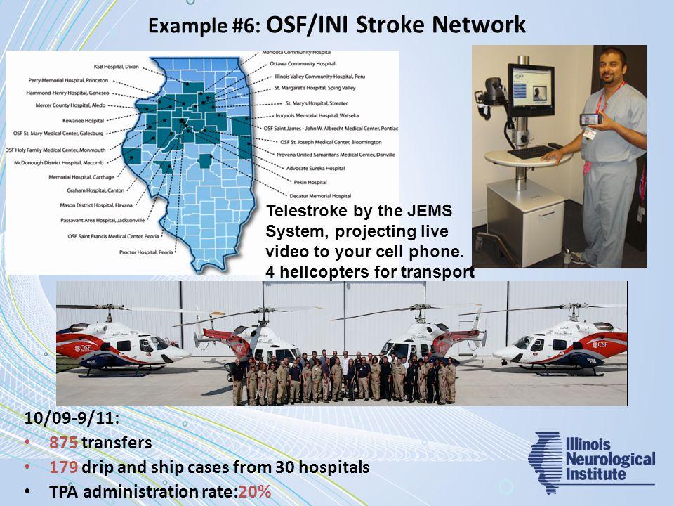 Example #6: OSF/INI Stroke Network