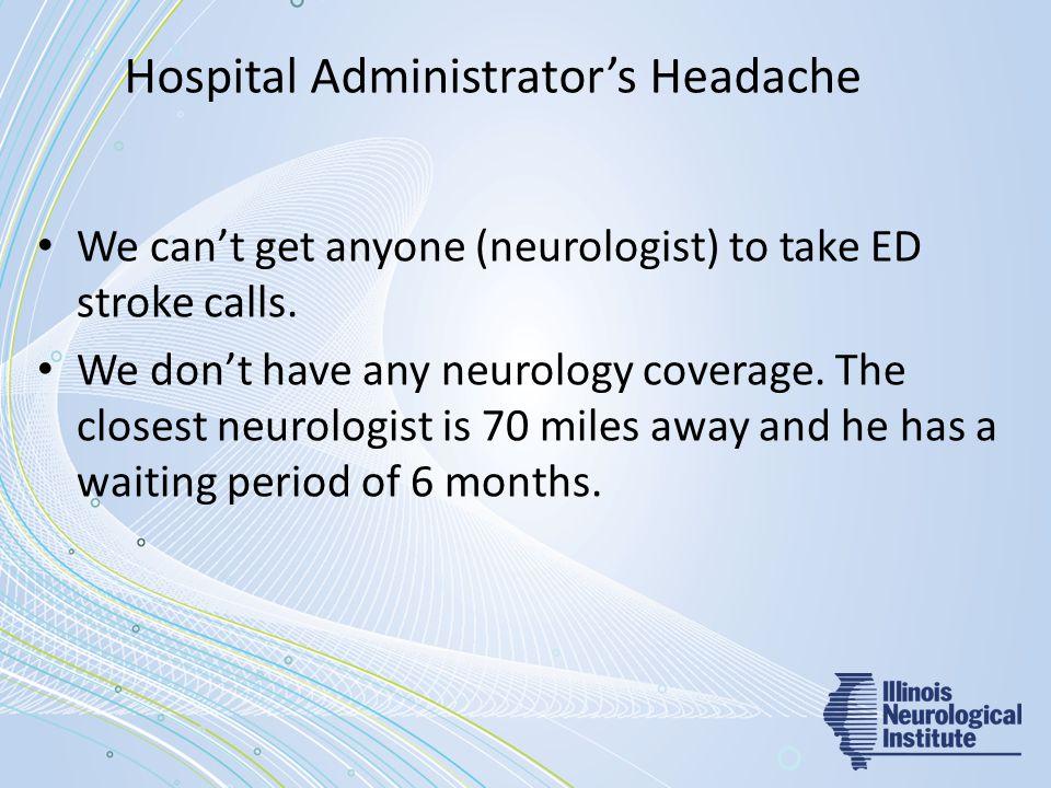 Hospital Administrator's Headache