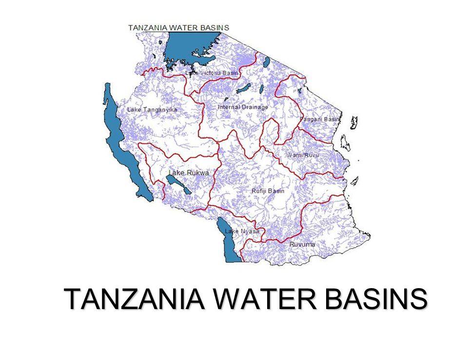 TANZANIA WATER BASINS