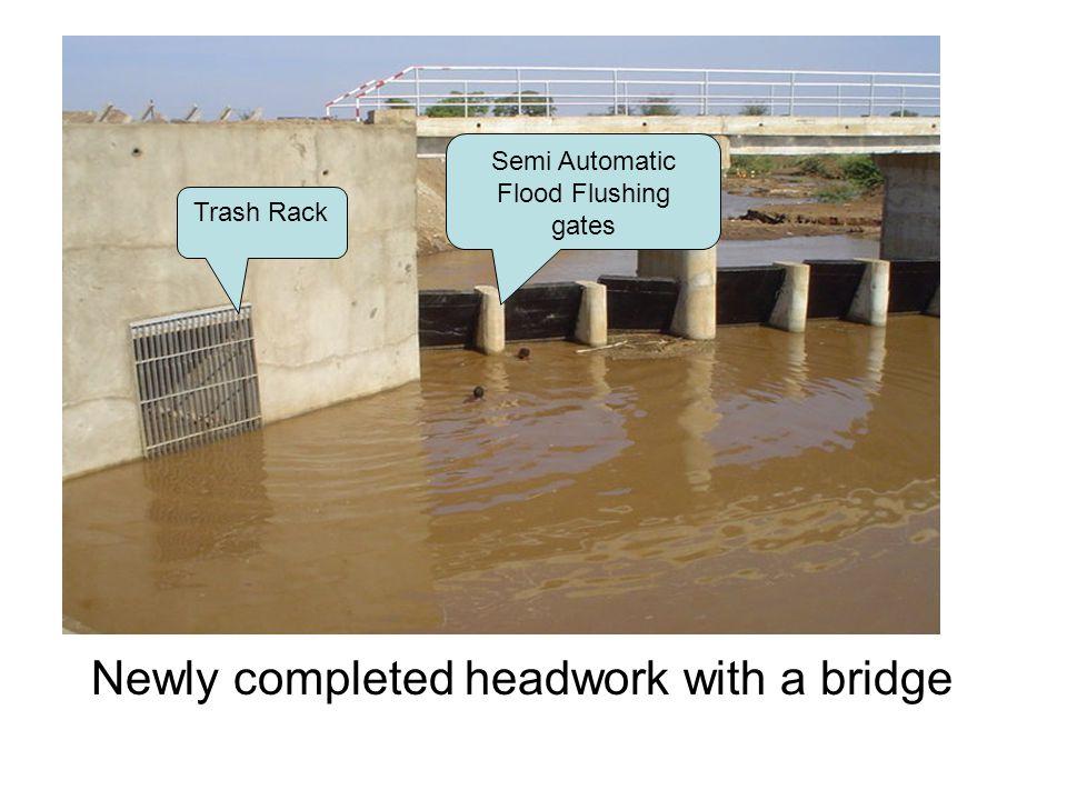 Semi Automatic Flood Flushing gates