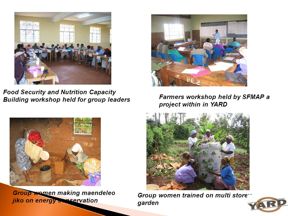 Farmers workshop held by SFMAP a project within in YARD