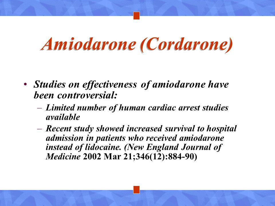 Amiodarone (Cordarone)