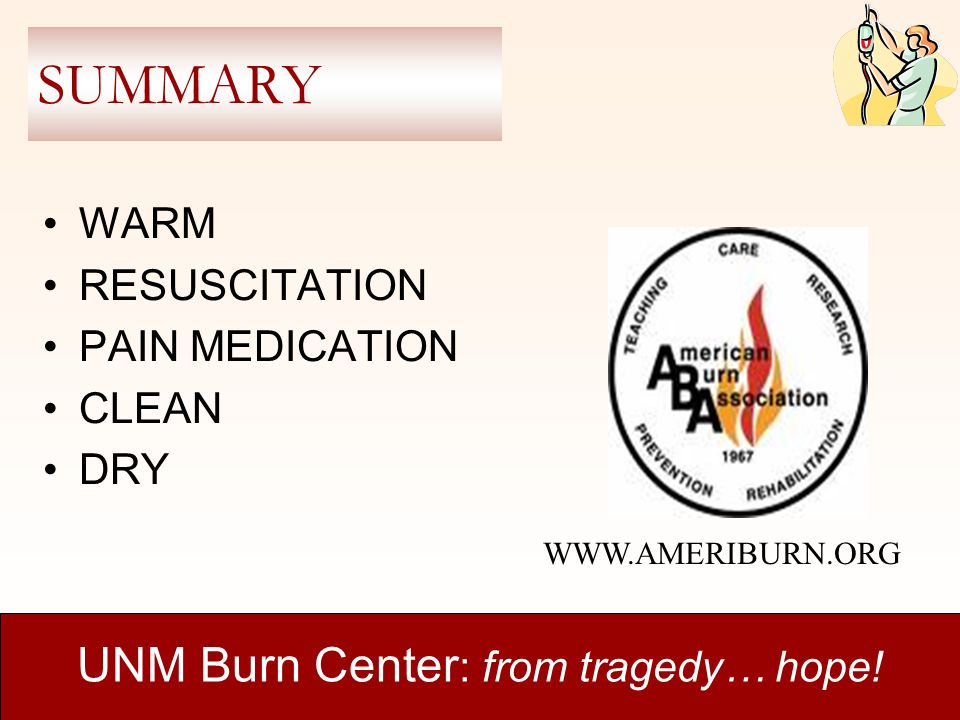 UNM Burn Center: from tragedy… hope!