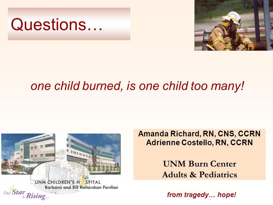 Amanda Richard, RN, CNS, CCRN Adrienne Costello, RN, CCRN