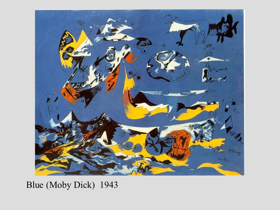 Blue (Moby Dick) 1943