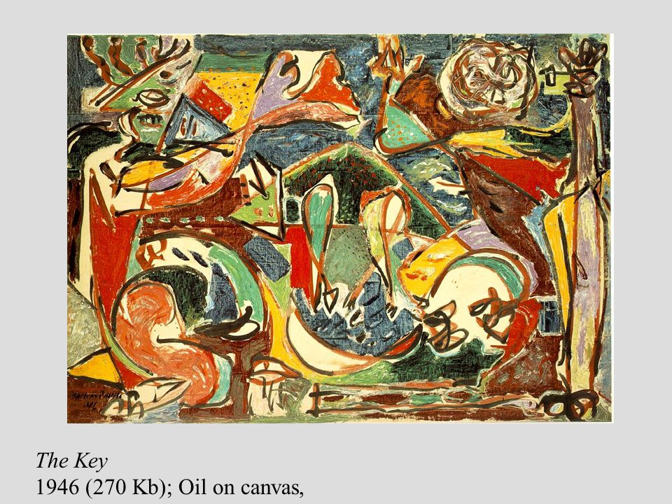 The Key 1946 (270 Kb); Oil on canvas,