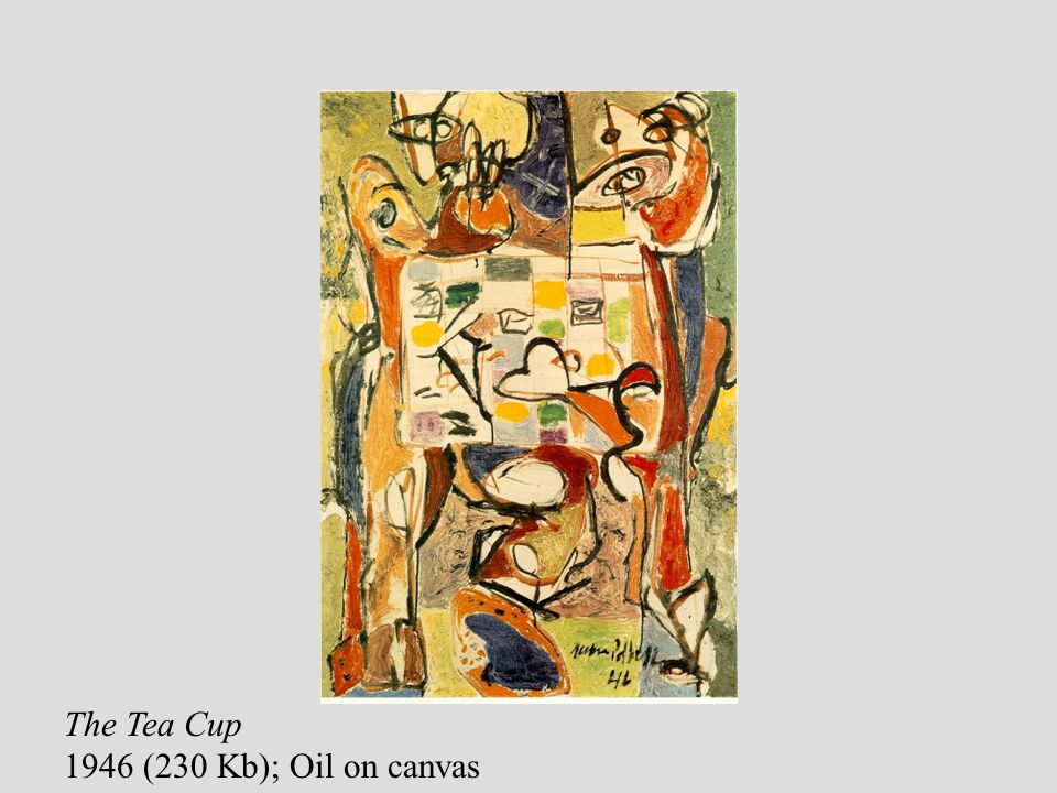The Tea Cup 1946 (230 Kb); Oil on canvas