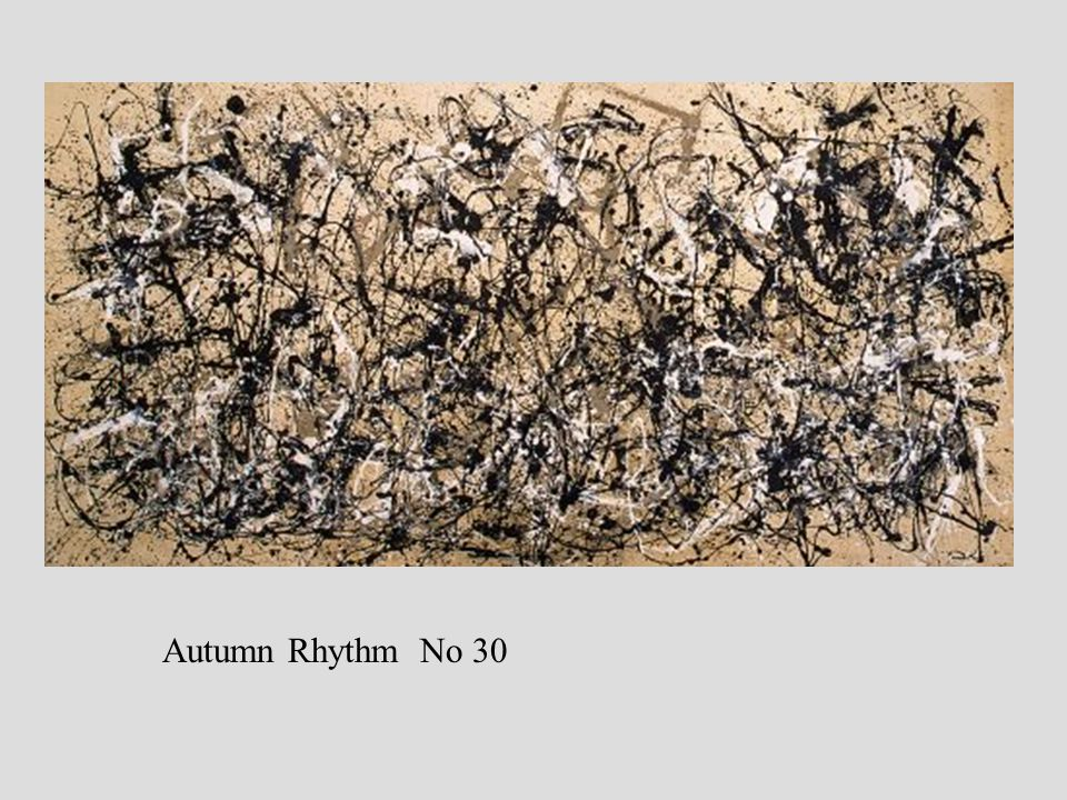 Autumn Rhythm No 30