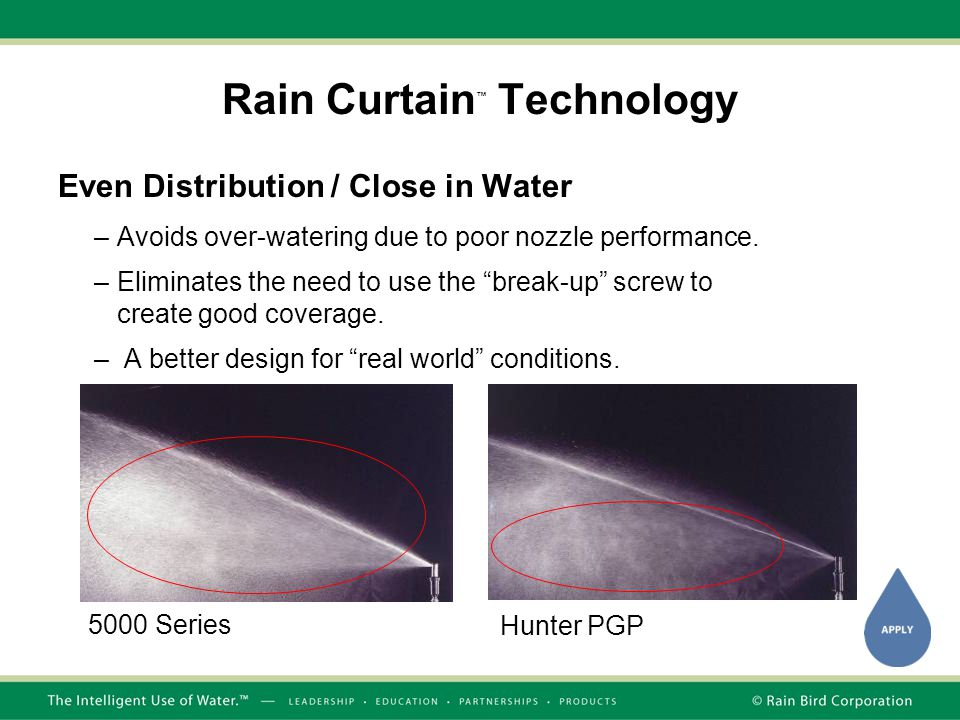 Rain Curtain™ Technology