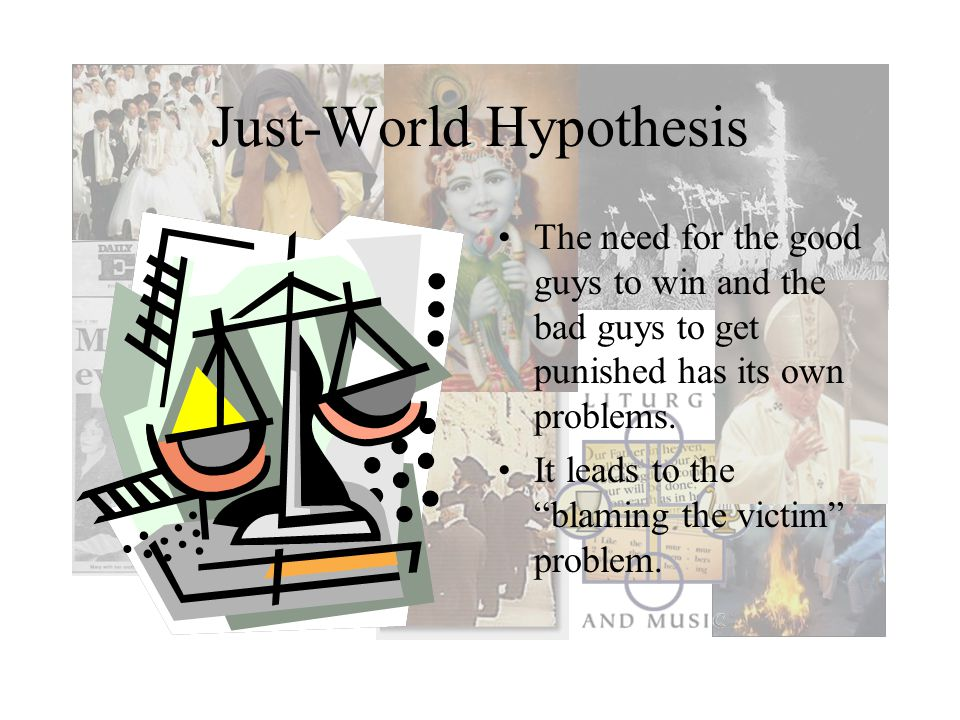 Just-World Hypothesis