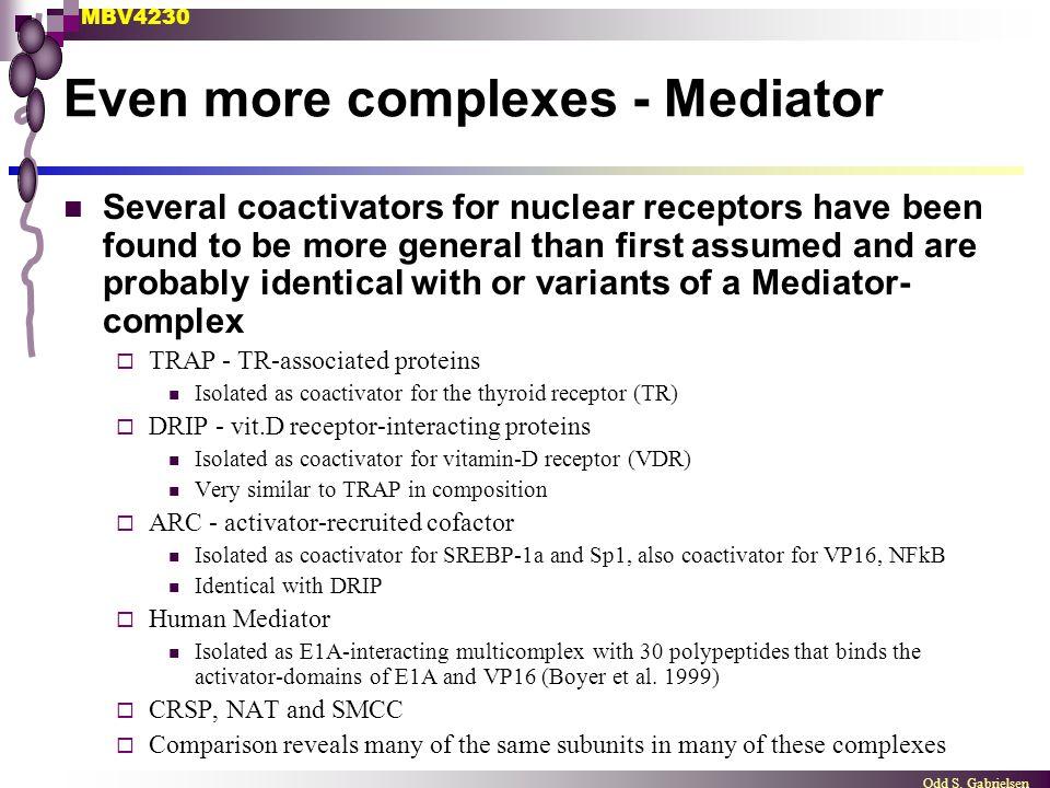 Even more complexes - Mediator