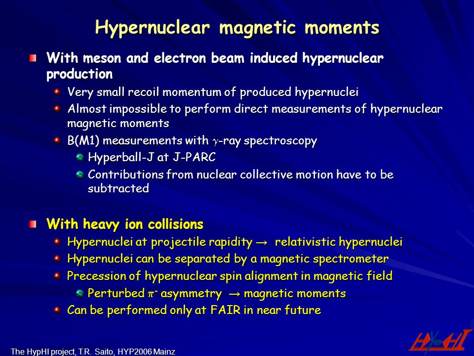 Hypernuclear magnetic moments