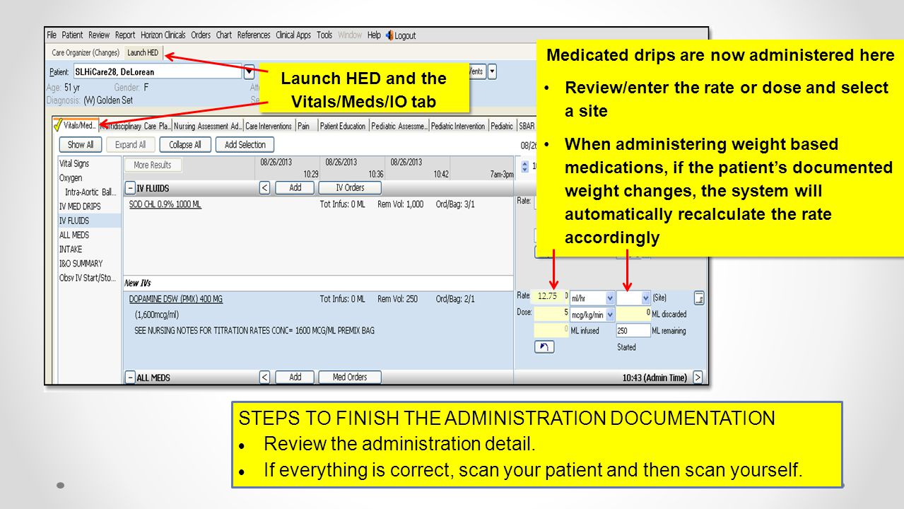Steps to finish the administration documentation