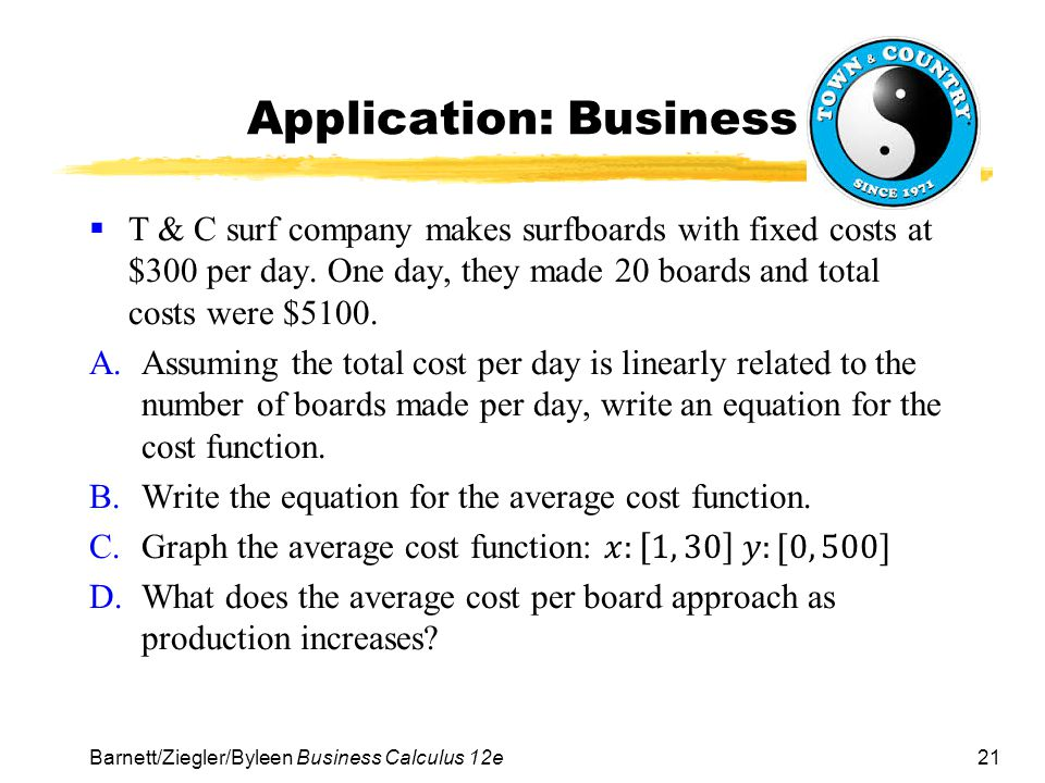 Application: Business
