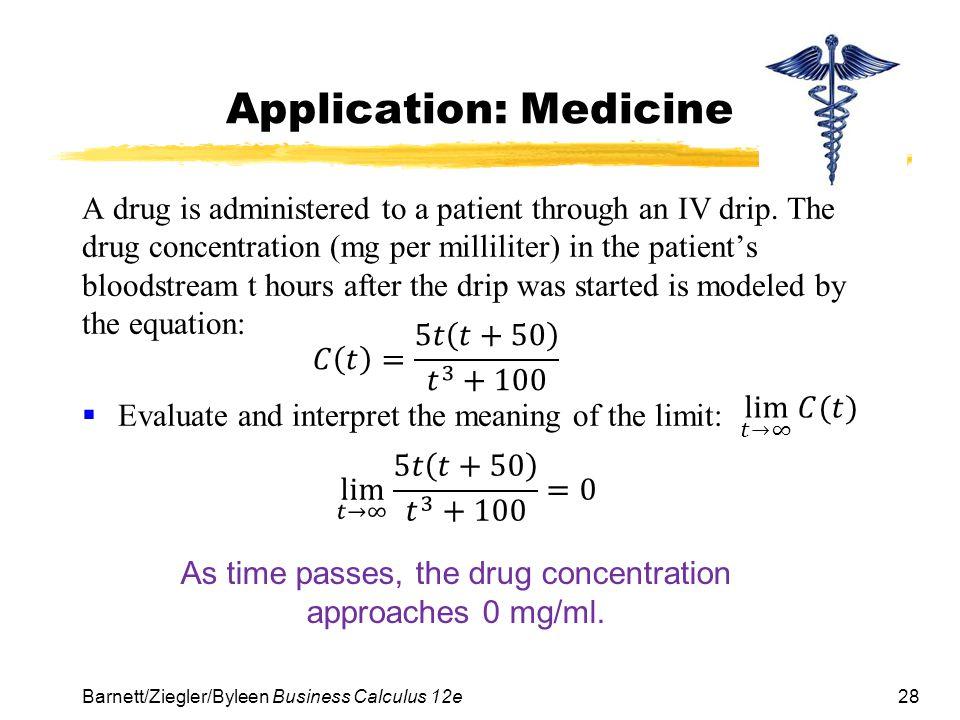 Application: Medicine