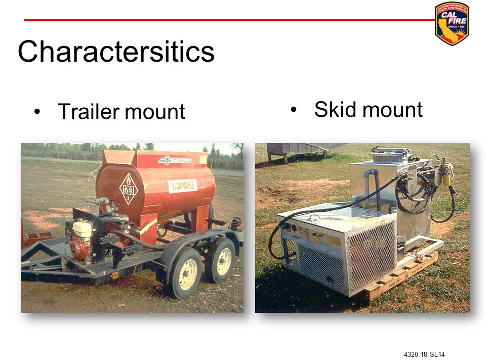 Charactersitics Trailer mount Skid mount