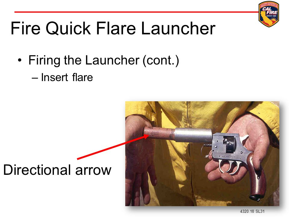 Fire Quick Flare Launcher