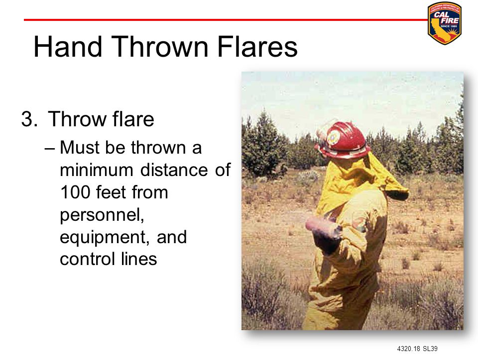 Hand Thrown Flares Throw flare