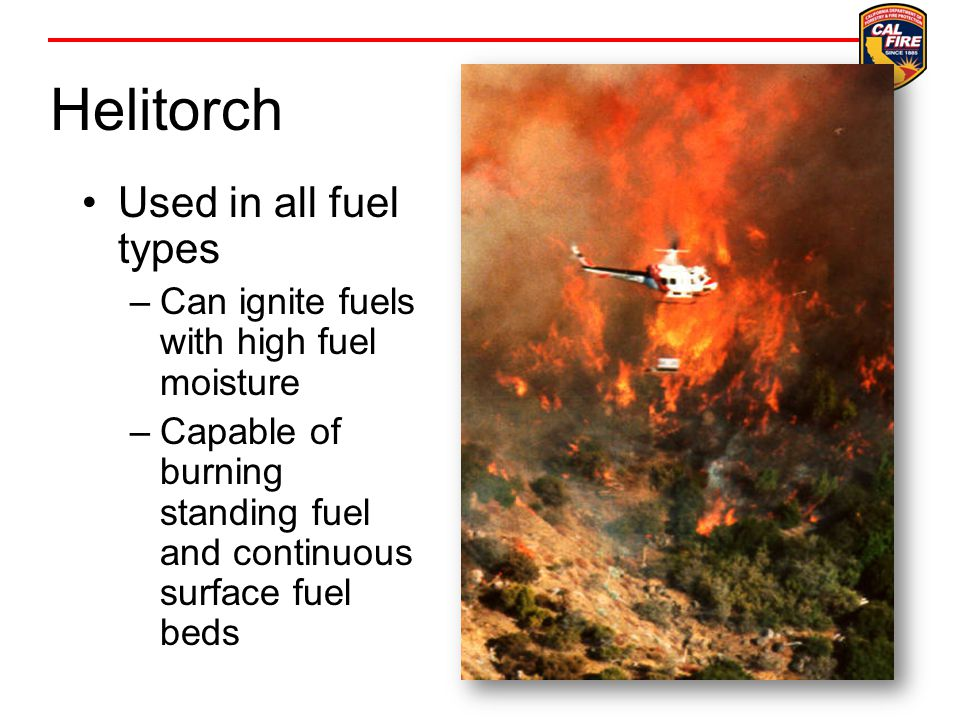 Helitorch Used in all fuel types