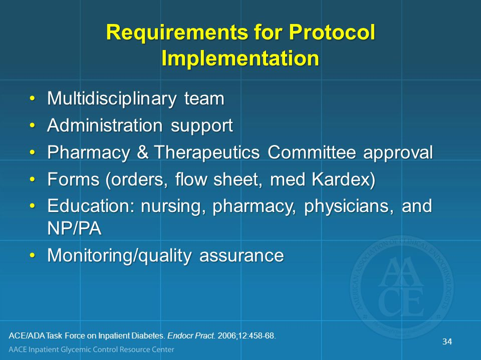 Requirements for Protocol Implementation