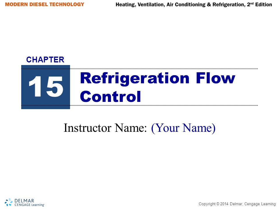 Refrigeration Flow Control