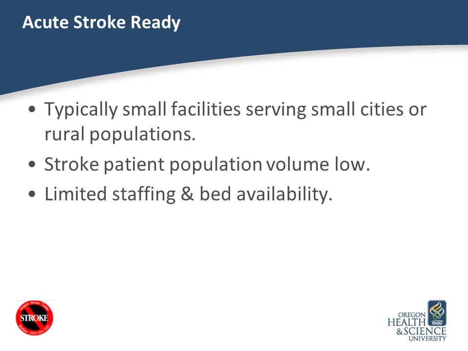 Typically small facilities serving small cities or rural populations.