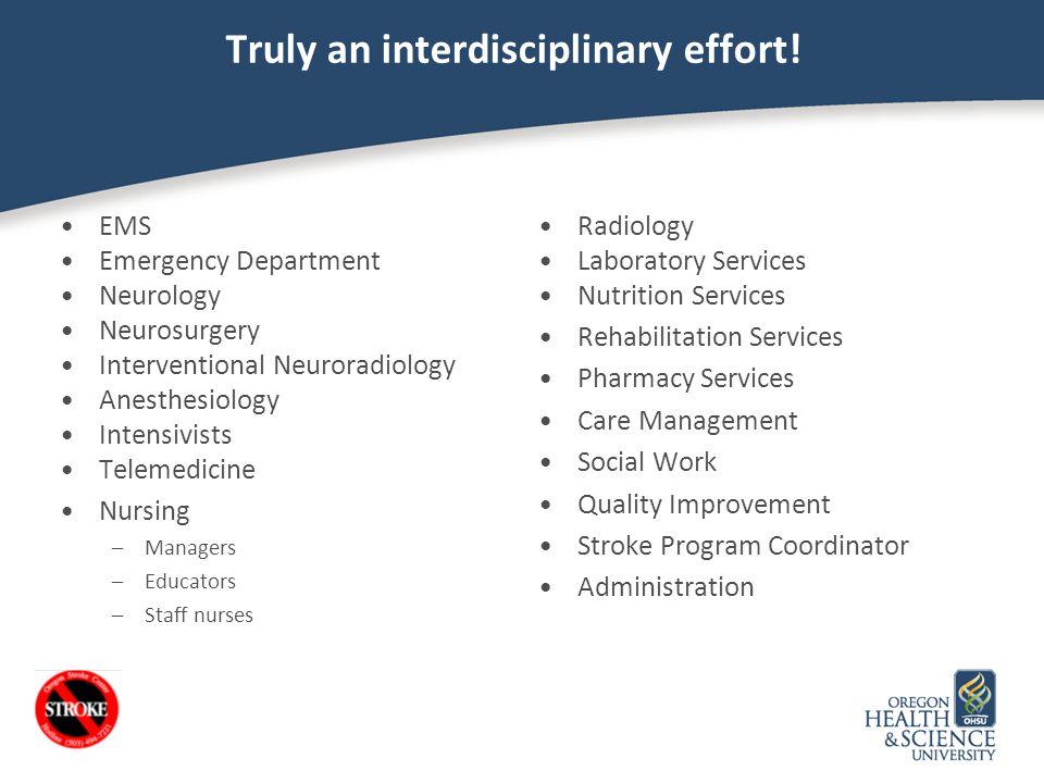 Truly an interdisciplinary effort!