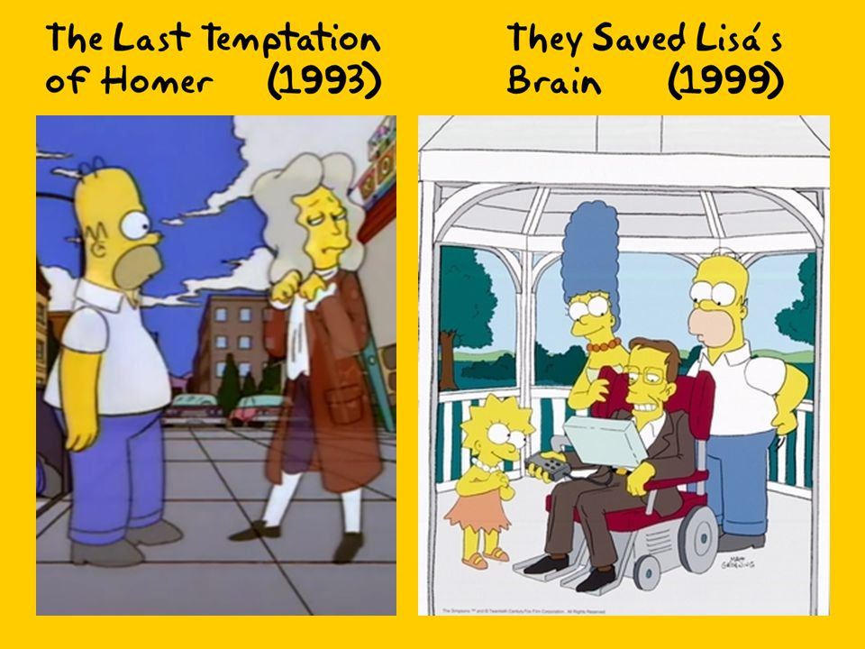 As well as mathematics, The Simpsons also has mathematicians