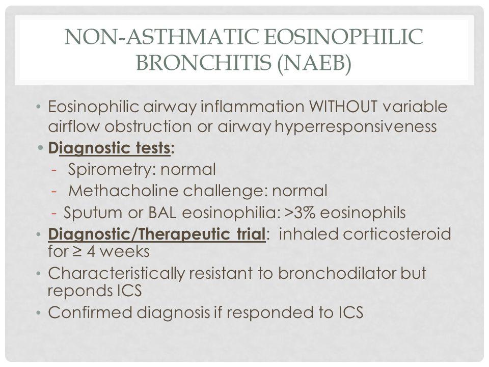 Non-Asthmatic Eosinophilic Bronchitis (NAEB)