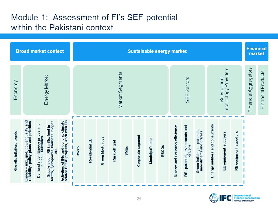 Module 1: Assessment of FI's SEF potential within the Pakistani context