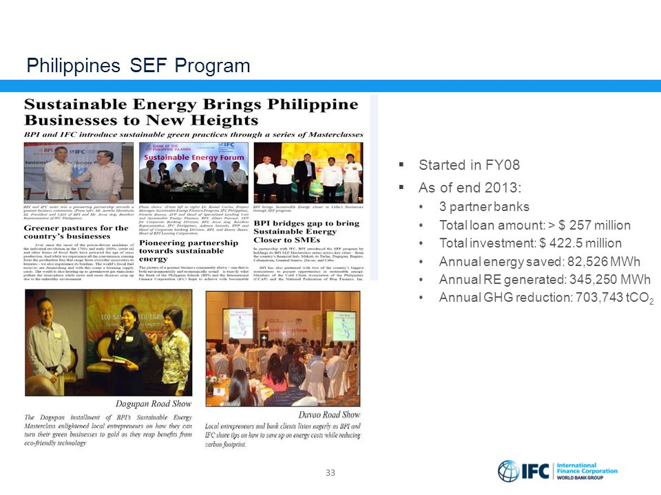 Philippines SEF Program