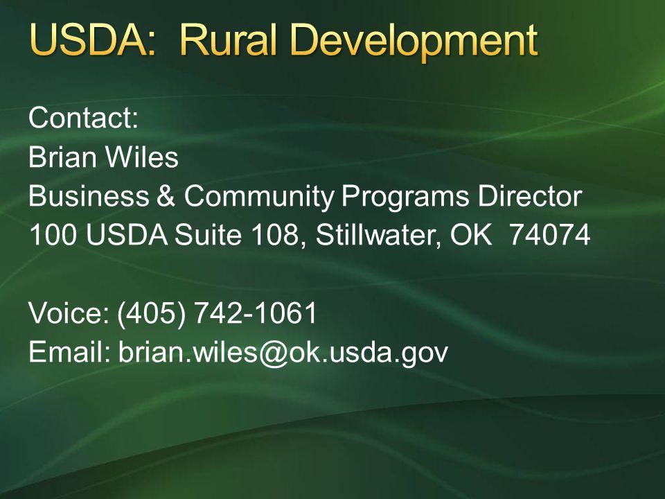 USDA: Rural Development