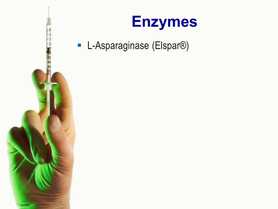 Enzymes L-Asparaginase (Elspar®)