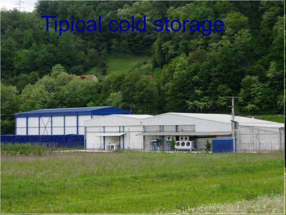 Tipical cold storage