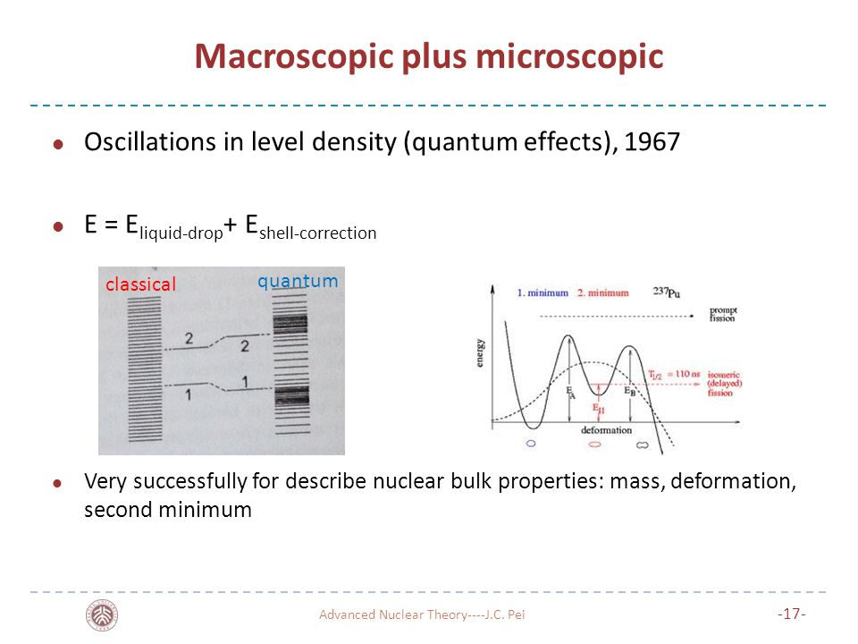 Macroscopic plus microscopic