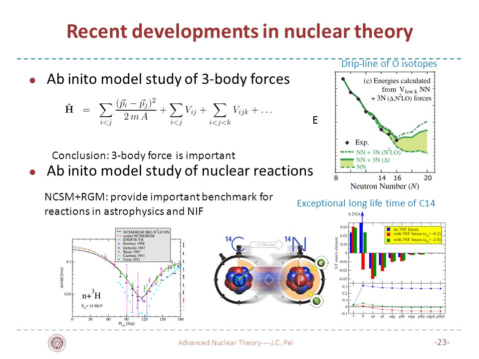 Recent developments in nuclear theory