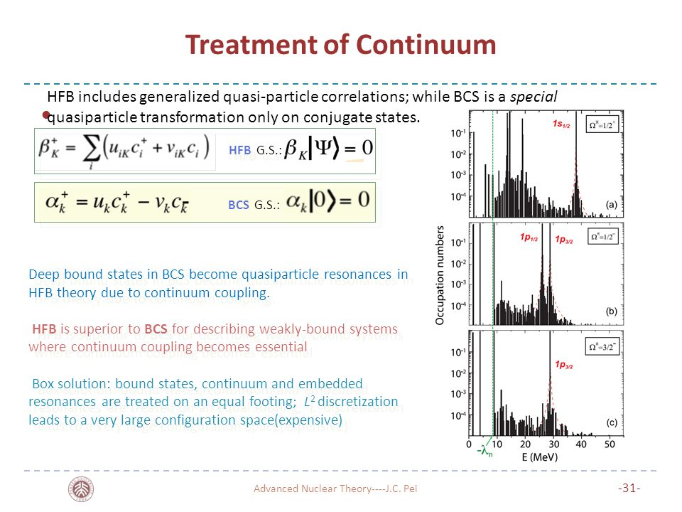 Treatment of Continuum