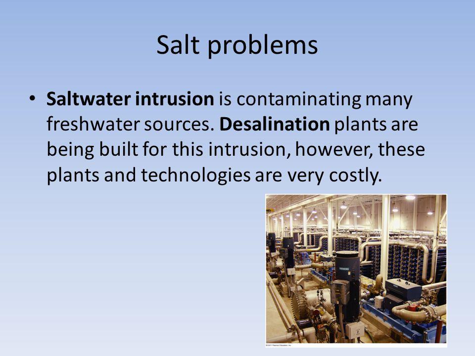 Salt problems