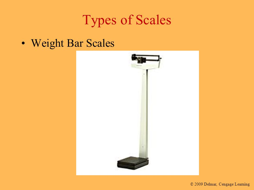 Types of Scales Weight Bar Scales