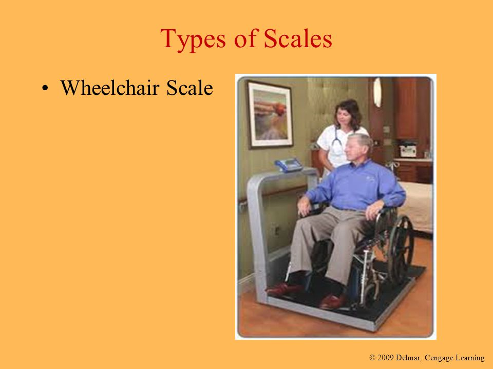 Types of Scales Wheelchair Scale