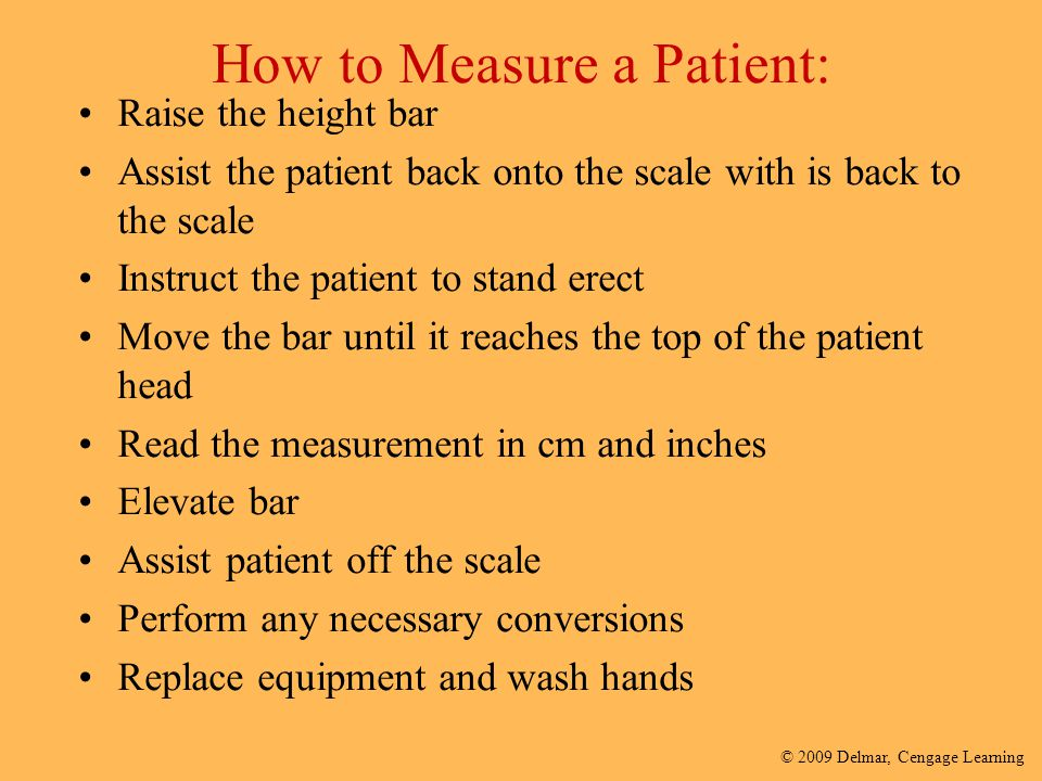 How to Measure a Patient: