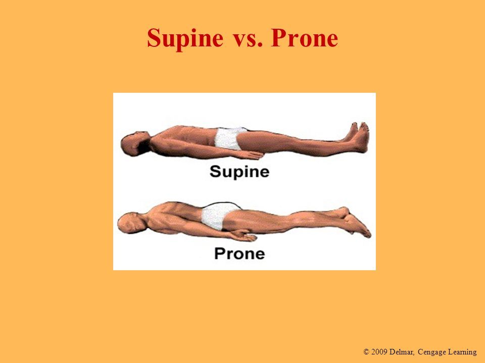 Supine vs. Prone