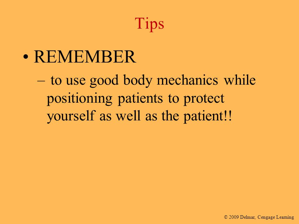 Tips REMEMBER.