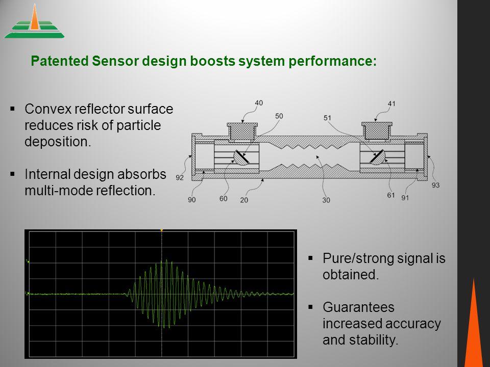 Patented Sensor design boosts system performance: