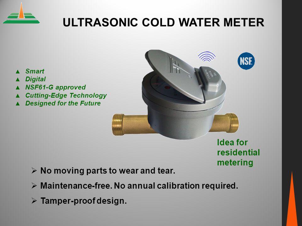 ULTRASONIC COLD WATER METER