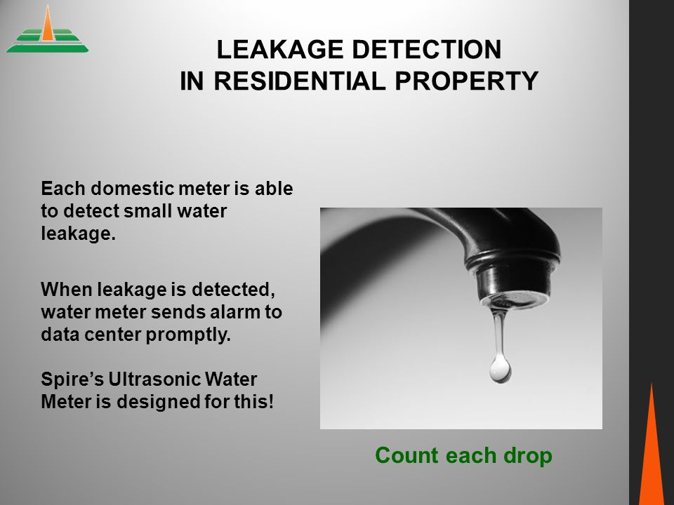 Leakage Detection In Residential Property