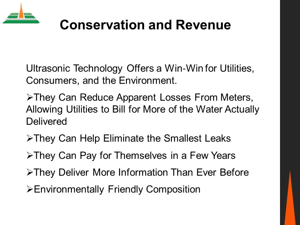 Conservation and Revenue