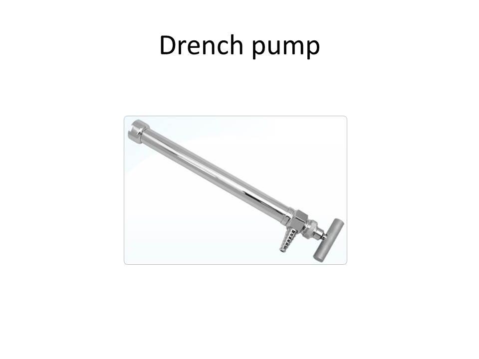 Drench pump