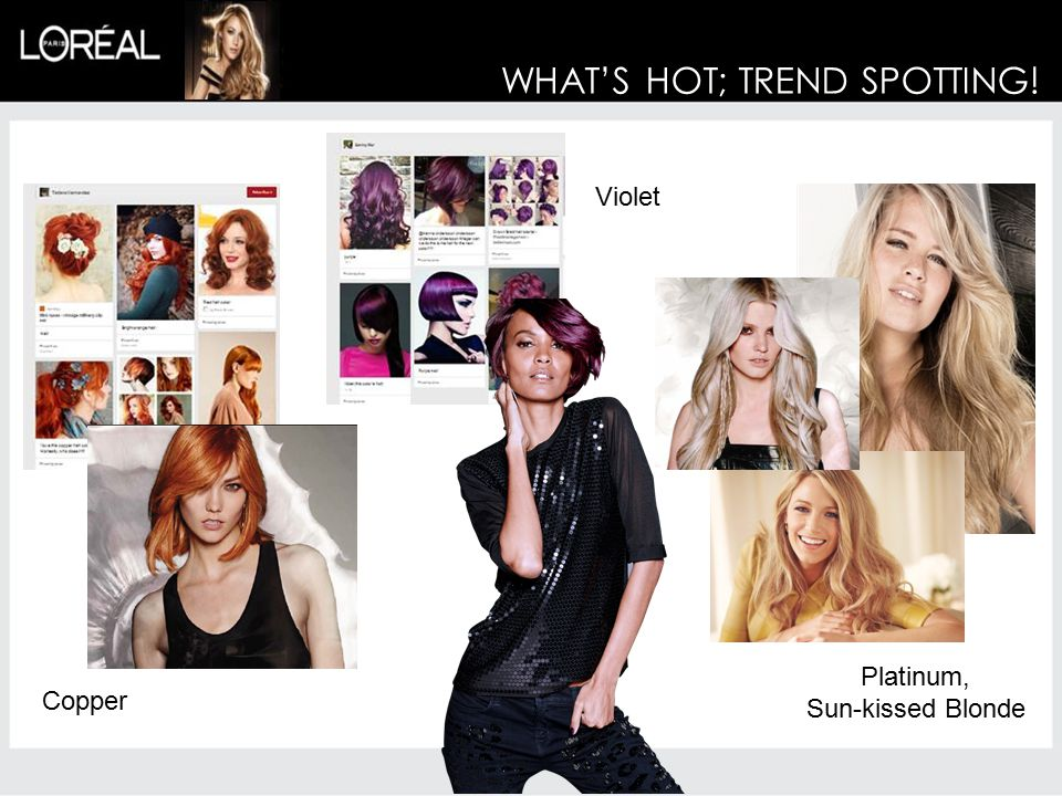 WHAT'S HOT; TREND SPOTTING!