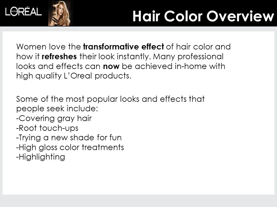 Hair Color Overview